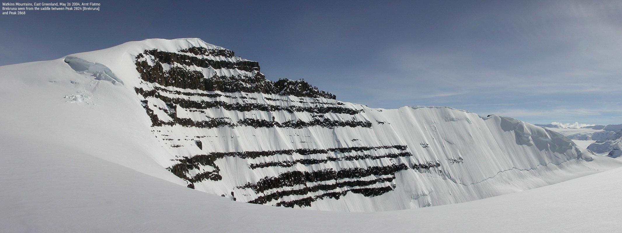 Arctic Mountains Trip Reports Gunnbj 248 Rn Fjeld Cone