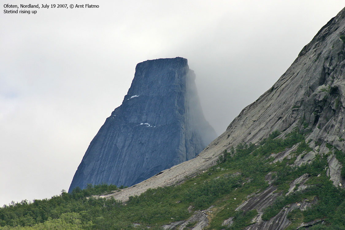 Norwegian Mountains Route Descriptions Stetind Stetinden